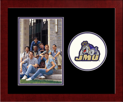 James Madison Dukes Spirit Photo Frame (Vertical)