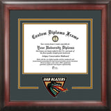 University of Alabama, Birmingham 11w x 8.5h Spirit Diploma Frame