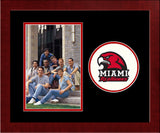 Miami University Redhawks Spirit Photo Frame (Vertical)