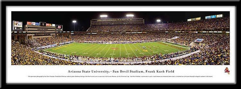 Arizona State Sun Devils Framed Stadium Print