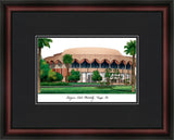 Arizona State Academic Framed Lithograph