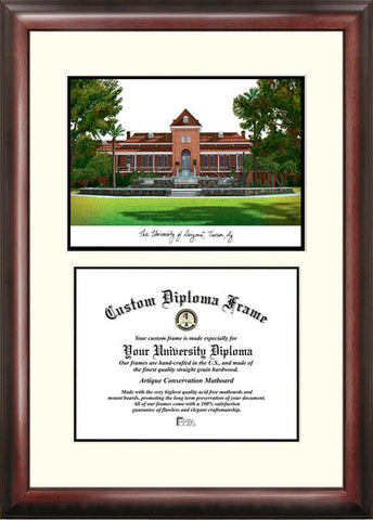 University of Arizona 11w x 8.5h Scholar Diploma Frame