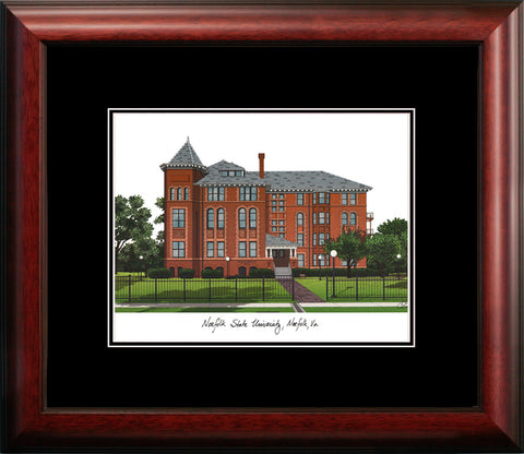 Norfolk State University Academic Framed Lithograph