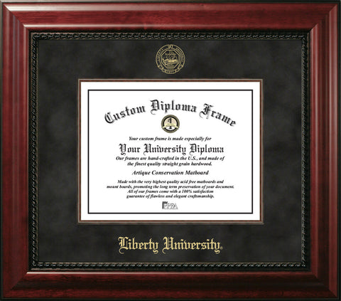 Liberty University 11w x 8.5h Executive Diploma Frame