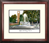 Cal State Fresno Alumnus Framed Lithograph