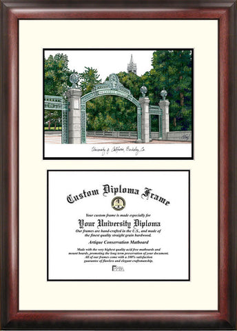 University of California, Berkeley 11w x 8.5h Scholar Diploma Frame