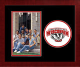 University of Wisconsin - Madison Badgers Spirit Photo Frame (Vertical)