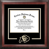 University of Colorado 11w x 8.5h Spirit Diploma Frame