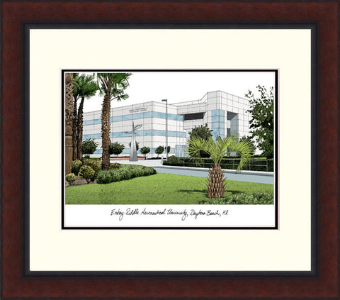 Embry-Riddle University Legacy Alumnus Framed Lithograph