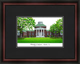 University of Delaware Academic Framed Lithograph
