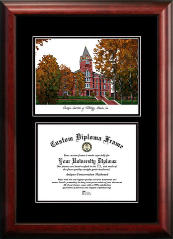Georgia Institute of Technology 17w x 14h Diplomate Diploma Frame