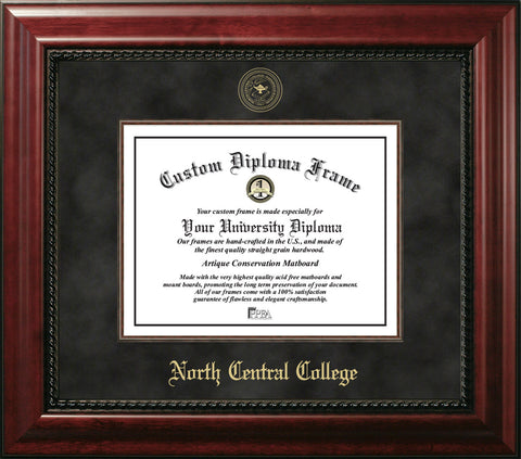 North Central College 11w x 8.5h Executive Diploma Frame