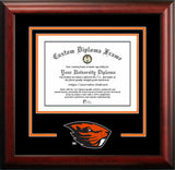 University of Oklahoma  Sooners Spirit Diploma Frame