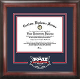 Florida Atlantic University 11w x 8.5h Spirit Diploma Frame