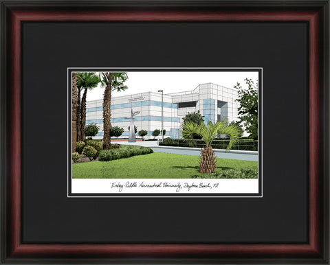Embry-Riddle University Academic Framed Lithograph