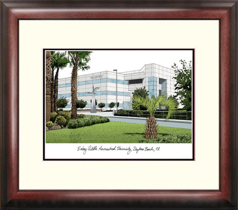 Embry-Riddle University Alumnus Framed Lithograph