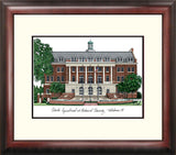 Florida A&M University Alumnus Framed Lithograph
