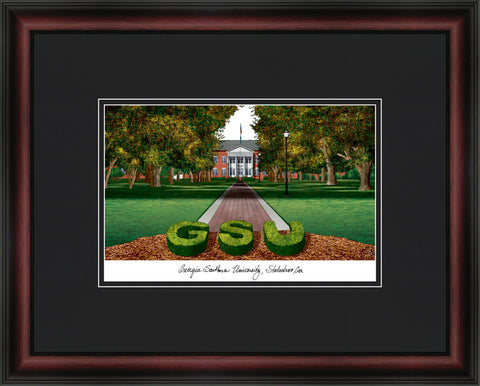 Georgia Southern Academic Framed Lithograph