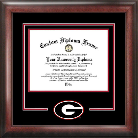 University of Georgia Bulldogs 15w x 12h Spirit Diploma Frame