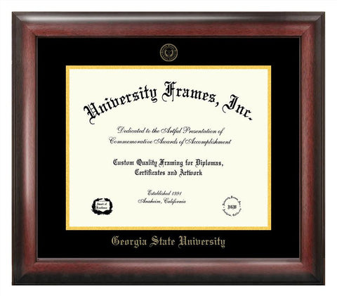 Georgia State University 17w x 14h  Gold Embossed Diploma Frame