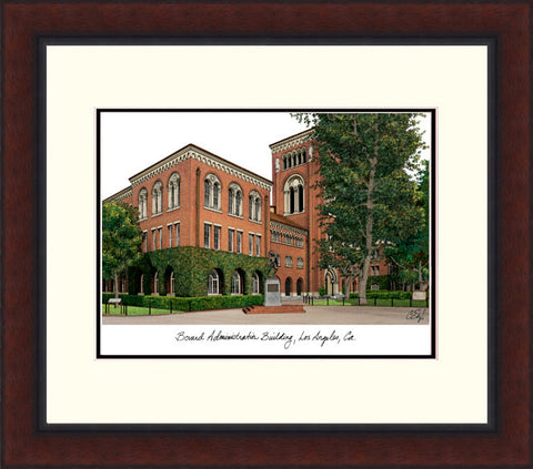 University of Southern California Legacy Alumnus Framed Lithograph