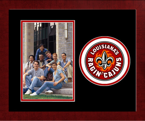 University of Louisiana Lafayette Ragin' Cajuns University Spirit Photo Frame (Horizontal)