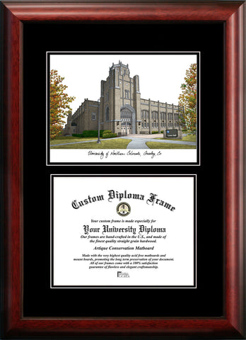 University of Northern Colorado 10w x 8h Diplomate Diploma Frame