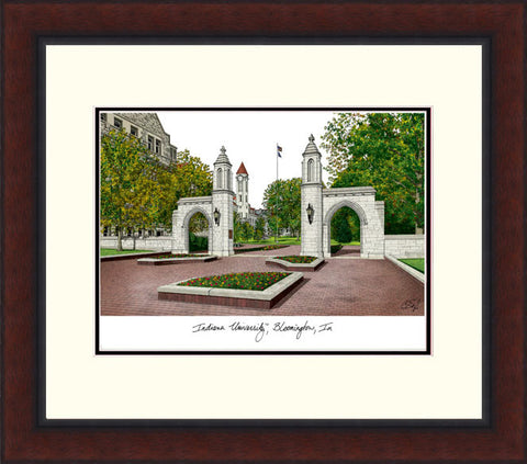 Indiana University, Bloomington Legacy Alumnus Framed Lithograph