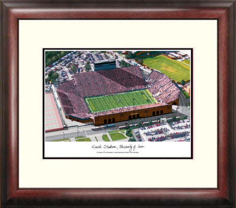 University of Iowa Hawkeyes: Kinnick Stadium Alumnus Framed Lithograph