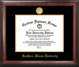 Southern Illinois University 11w x 8.5h Gold Embossed Diploma Frame
