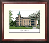 North Central College Alumnus Framed Lithograph