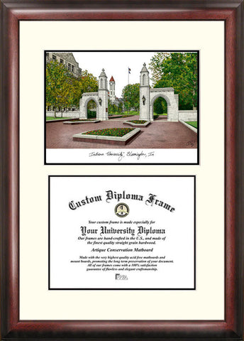 Indiana University, Bloomington 11w x 8.5h Scholar Diploma Frame