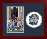 Georgetown Hoyas Spirit Photo Frame (Vertical)