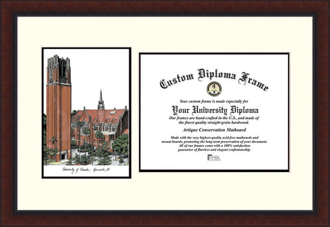 University of Florida , the Tower 16w x 11.5h Legacy Scholar