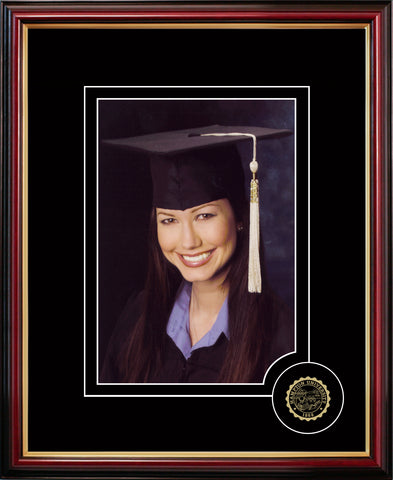 Hampton University 5X7 Graduate Portrait Frame