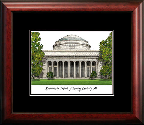 Massachusetts Institute of Technology Academic Framed Lithograph