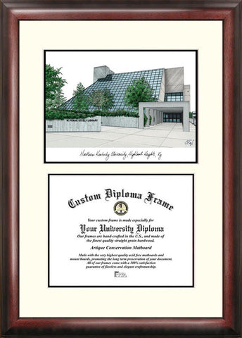 Northern Kentucky University 11w x 8.5h Scholar Diploma Frame