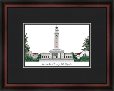 Louisiana State University Academic Framed Lithogrpah