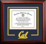 University of California, Berkeley -11w x 8.5h- Spirit -Diploma- Frame
