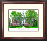 University of Maine Alumnus Framed Lithograph
