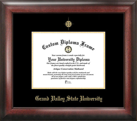 Grand Valley State University 9w x 7h Gold Embossed Diploma Frame