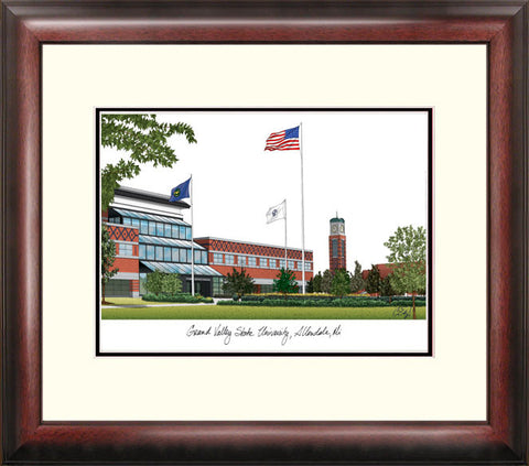 Grand Valley State University Alumnus Framed Lithograph