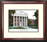 University of Mississippi Alumnus Framed Lithogrpaph