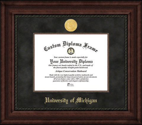 University of Michigan Executive Diploma Frame