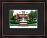East Carolina University Academic Framed Lithograph