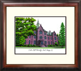 Seton Hall Alumnus Framed Lithograph
