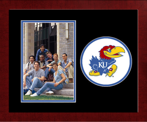 University of Kansas Jayhawks Spirit Photo Frame (Vertical)