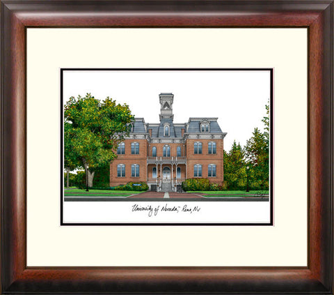 University of Nevada , Reno Alumnus Framed Lithograph