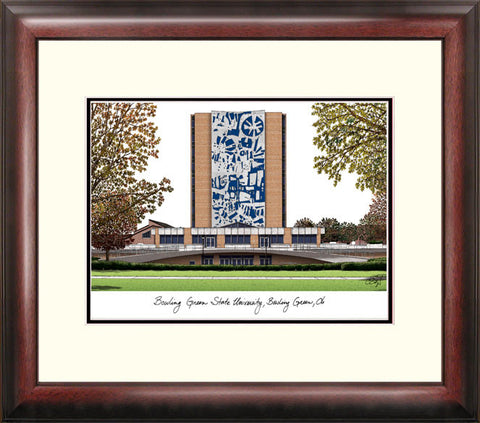 Bowling Green State University Alumnus Framed Lithograph