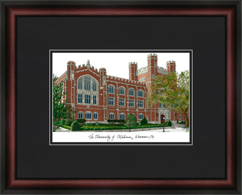 University of Oklahoma Academic Framed Lithograph